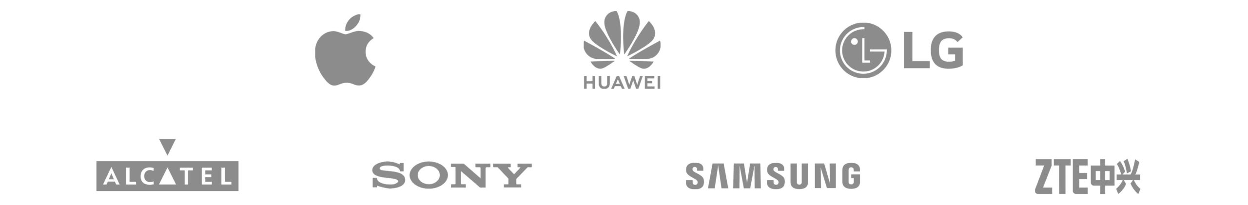 Phone brands we work with